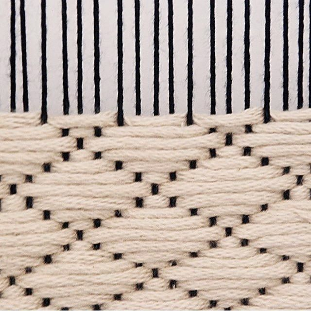 "DMC Crafts (@dmc_crafts) on Instagram: ""You can also weave with out threads. @twohandstextilestudio used Natura XL ✨ #dmcthreads"""