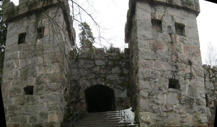 Granite Castle (in Hämeenlinna) in Southern Finland