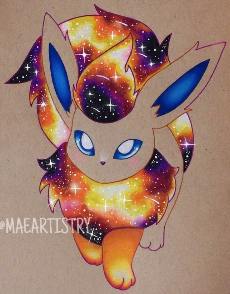 Cute Galaxy Flareon Cute Dragon Drawing Cute Pokemon Wallpaper Cute Pokemon Pictures
