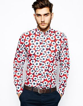 Vito Shirt With Floral Print
