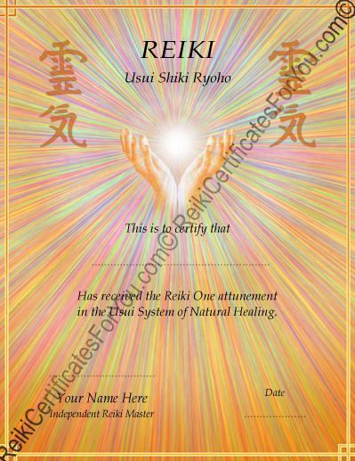 9 best reiki images on pinterest spirituality reiki symbols and reiki certificate template healing hands by reikicertificates on etsy https yelopaper Images