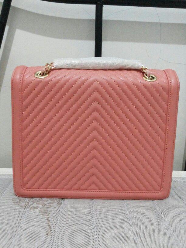Fushia Handbag from Charles and Keith