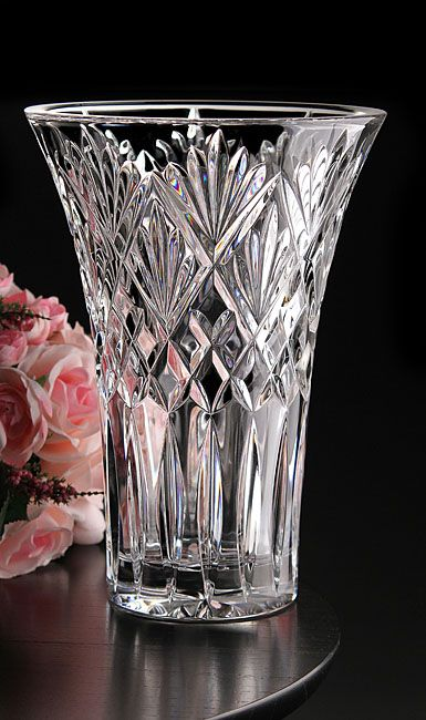 Waterford Cassidy 10 inch Vase-- regular retail $300 and I found it at Goodwill for $4.99. Guess my lead crystal collection is worth some good money.
