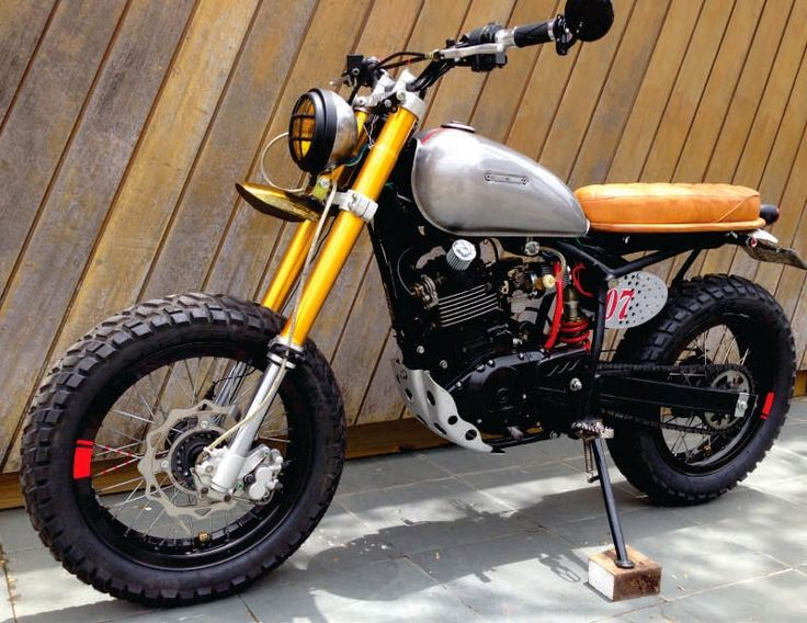 Sundown 200 Scrambler by Garace 77 | Garagem Cafe Racer