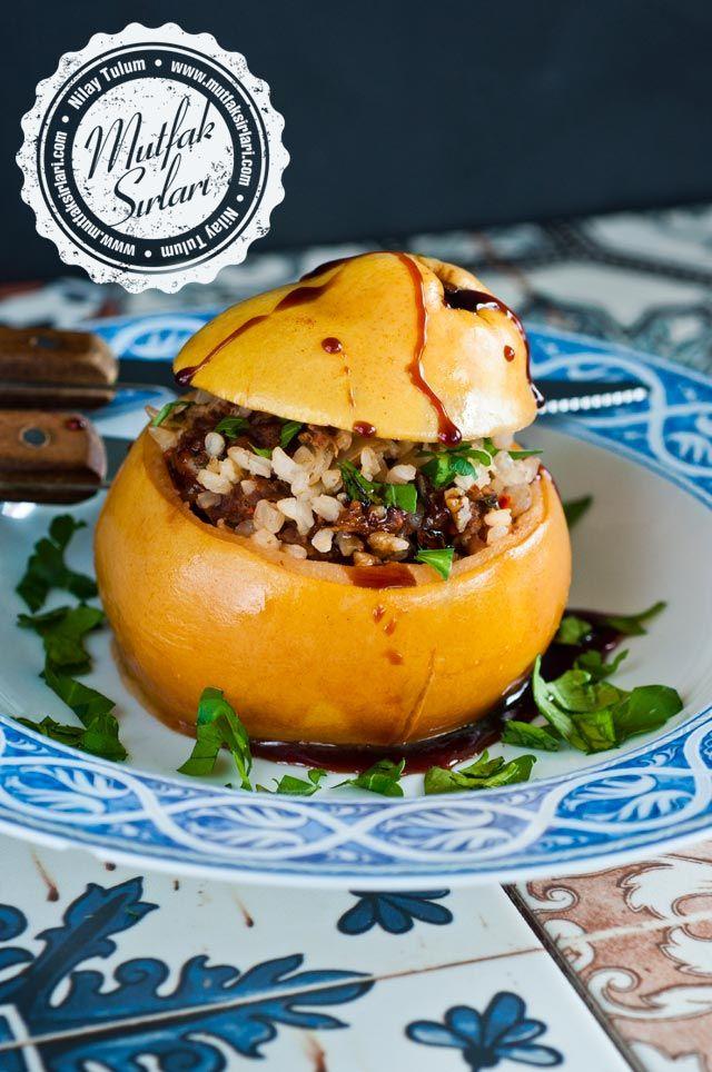 Ayva Dolması Tarifi - Stuffed Quince Recipe #ottomancusine