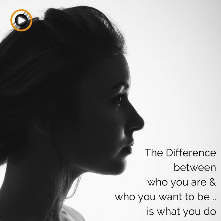 Become who you really want to be by taking action! #motivation #mindset #people #action #inspiration