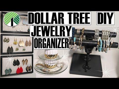 (101) ORGANISATEUR DE BIJOUX EN ARBRES DE DOLLARS DIY – YouTube