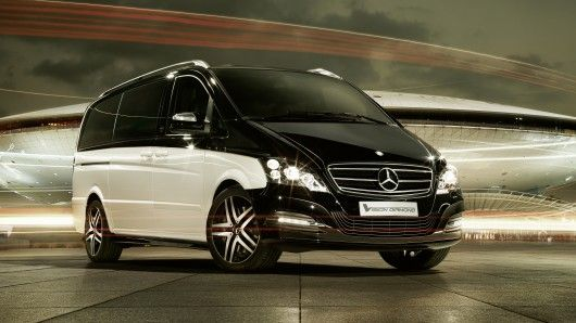 Important people need appropriate wheels and for a man-about-town businessman, Mercedes Benz has crafted the Viano Vision Diamond - a chauffeured luxury vehicle.