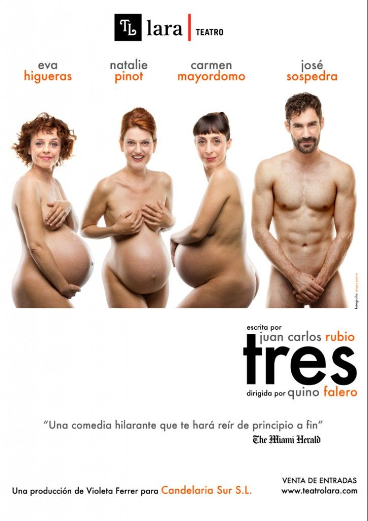 TRES de Juan Carlos Rubio en el Teatro Lara