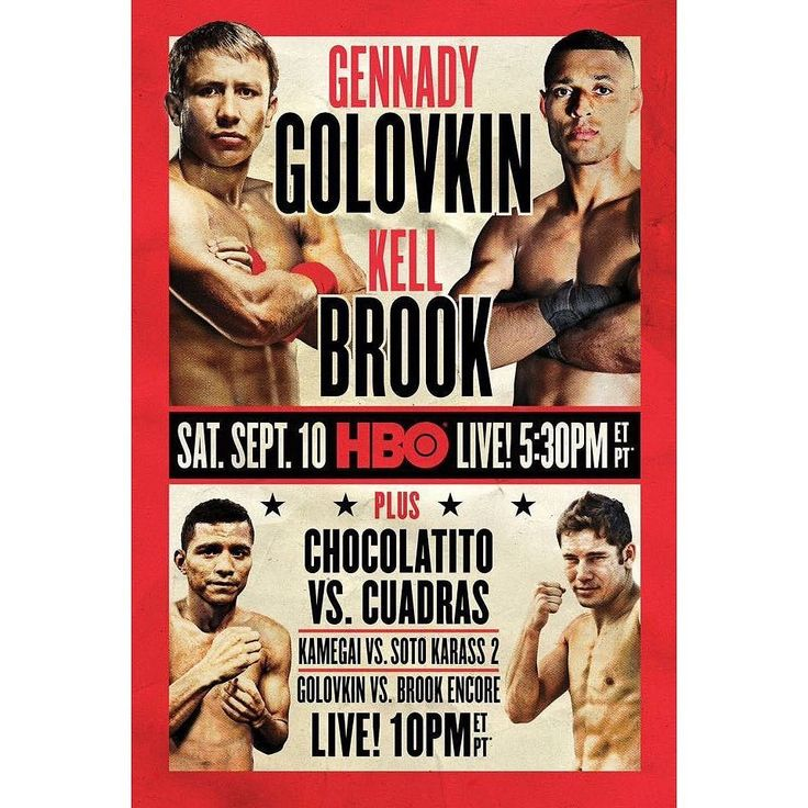 September 10th features two highly anticipated match-ups. Two of boxing's best pound for pound will look to validate their spots. Gennady Golovkin takes on Kell Brook and Roman Gonzalez faces Carlos Cuadras. These two fights are what boxing fans love! Who are your picks to win? #boxing #golovkinbrook #GonzalezCuadras #boxing #boxeo