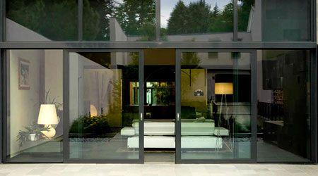 as 25 melhores ideias de baie vitr e coulissante no. Black Bedroom Furniture Sets. Home Design Ideas