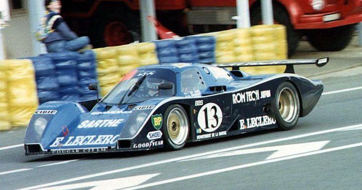 1989 Cougar C 22 LM Porsche (5.096 cc.) (T) Pascal Fabre Jean-Louis Bousquet Jiro Yoneyama