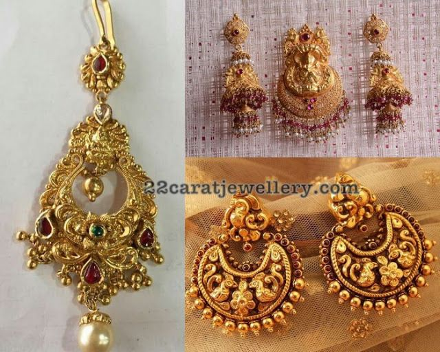 1245 best Traditional Gold Jhumkas Collection images on ... | 640 x 512 jpeg 79kB