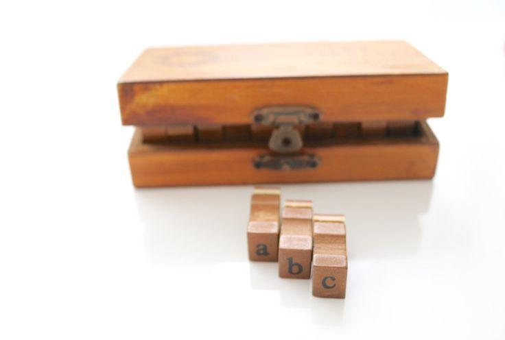 Buchstaben - Stempel - Buchstaben & Symbole - Buchstaben... - ein Designerstück von Style-your-Life bei DaWanda