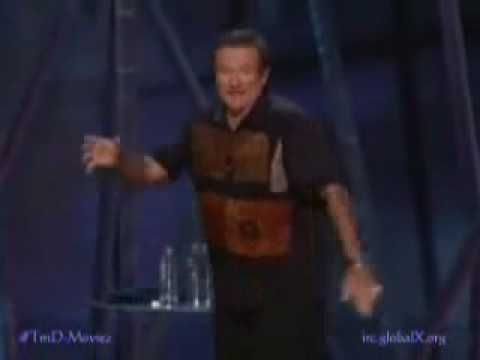 Robin Williams Stand Up Comedy Part 6 - YouTube