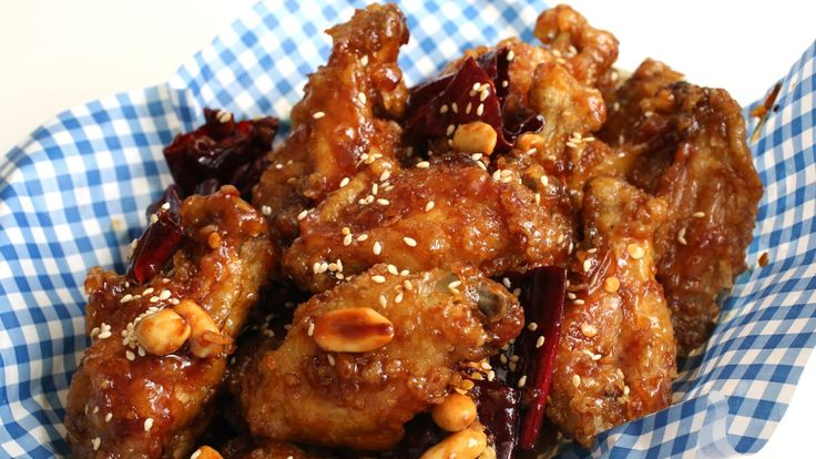 Crispy crunchy Korean fried chicken (Dakgangjeong) recipe ...
