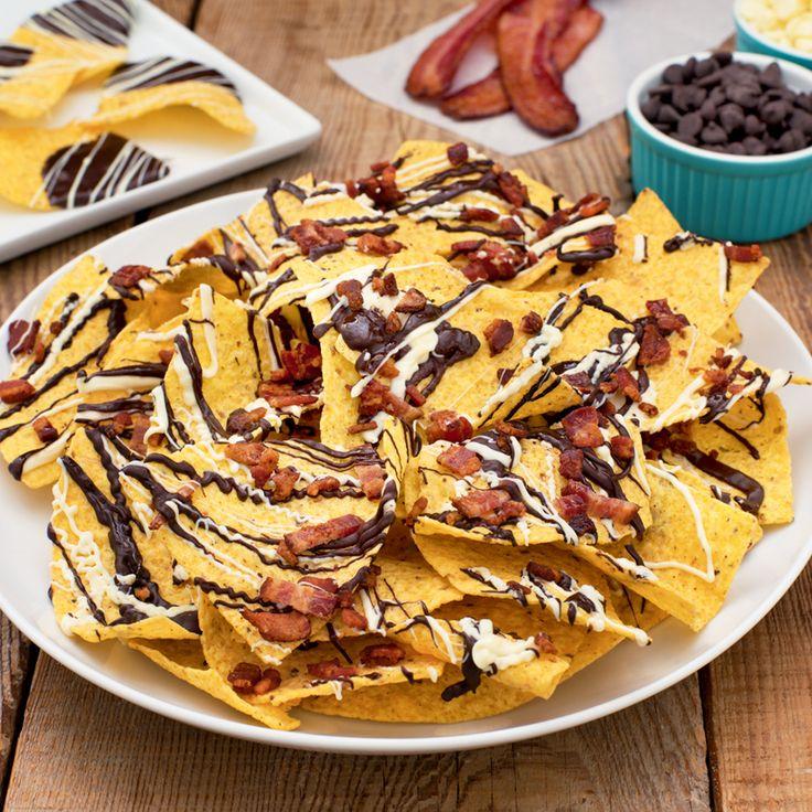 Explosion choco-bacon - Créez la plus savoureuse recette de Explosion choco-bacon. Tostitos® possède avec des directives étape par étape. Concoctez la meilleure/le meilleur pour n'importe quelle occasion.