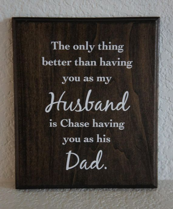 Dad personalized Plaque Sign The only thing by Frameyourstory, $27.95