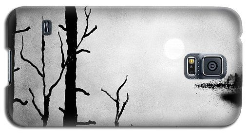 On The Edge Galaxy S5 Case Printed with Fine Art spray painting image On The Edge by Nandor Molnar (When you visit the Shop, change the orientation, background color and image size as you wish)