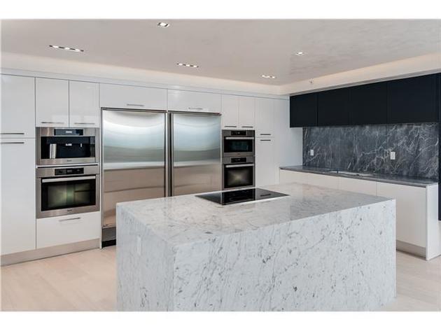 Kitchen: Timbaland's Miami Beach Condo