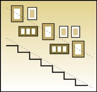 Victoria Secret Original Gift Card - http://p-interest.in/ Stairway picture frame layout. jnagdeman
