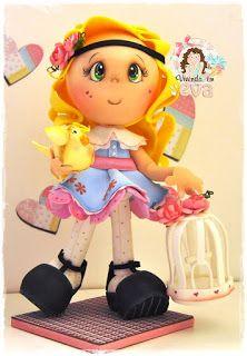 Vivendo em EVA: bonecas 3D