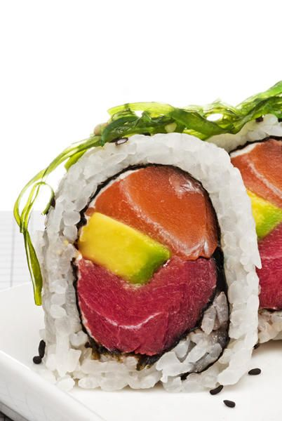Sushi...could eat it everyday! Someday when I'm rich, I will.