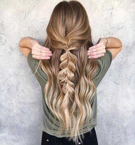 20 cute simple hairstyles for long hair – Madame Friisuren
