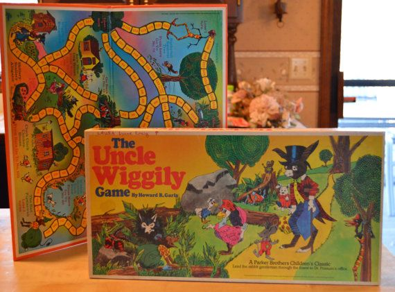 Wiggily uncle 1940s game vintage