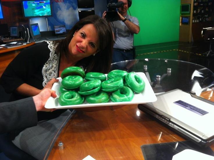 Green bagels anyone?