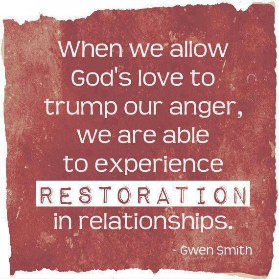 Quotes Forgiveness Love Relationships: Restoration In Relationships Will Happen Through