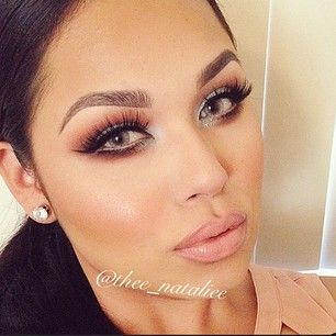 In love with this fall make-up idea.