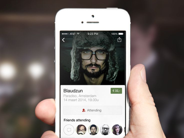 Gibble app for concerts