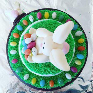Påskefødselsdagskage efter Vitus ønske #påskekage #cake #kage#vitus6år