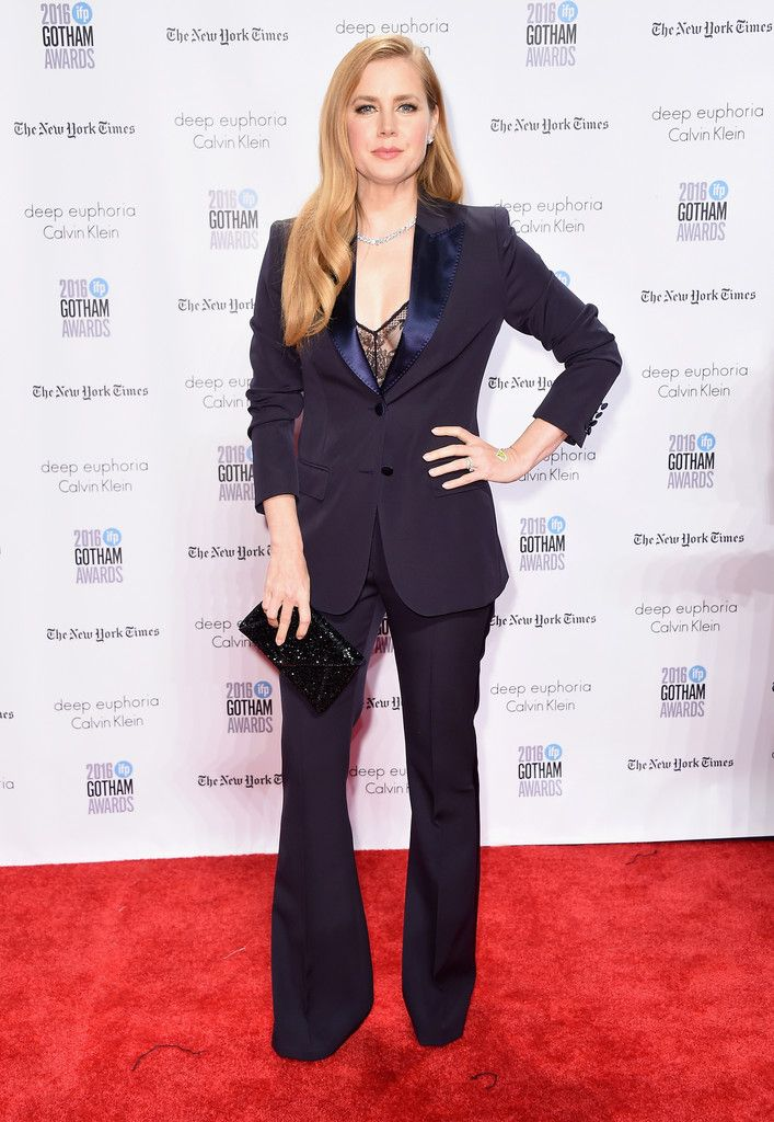 Amy Adams in Max Mara - The Best Looks from the 2016 Gotham Film Awards - StyleBistro