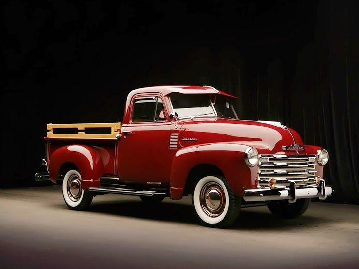 1951 Chevrolet SWB Stepside Pickup Truck