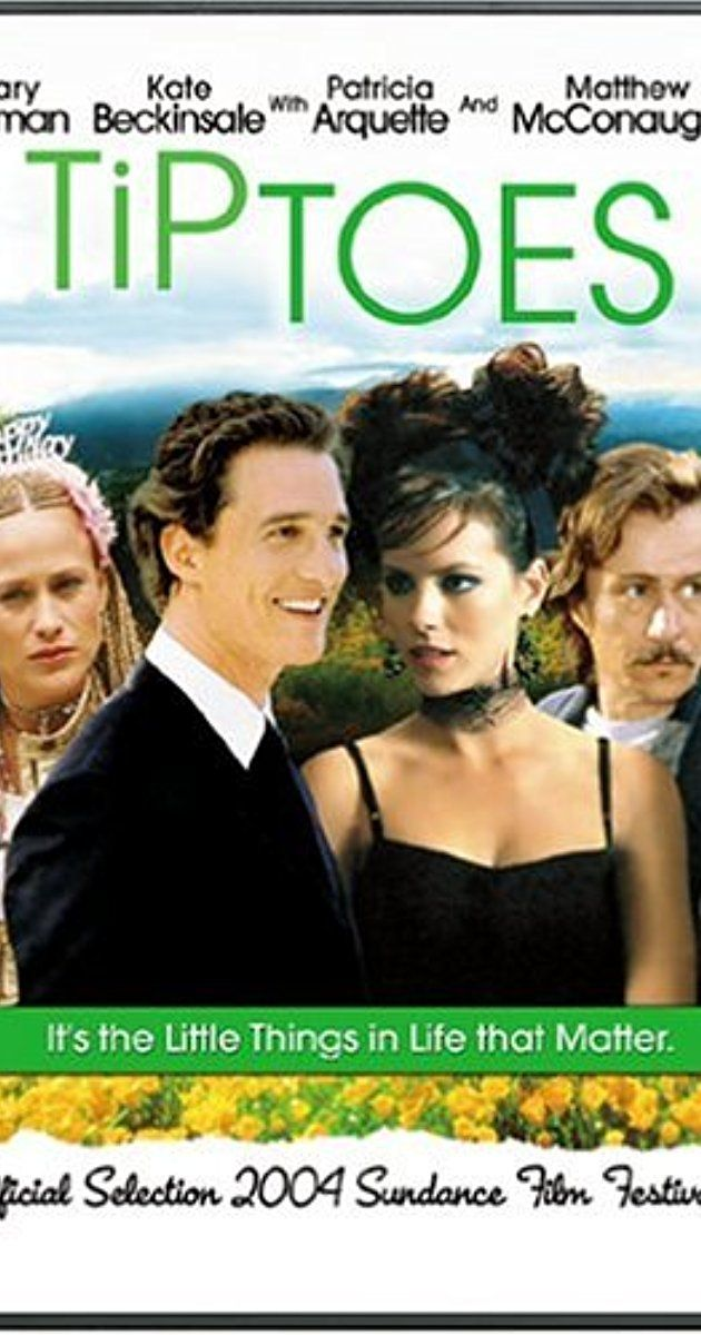 Directed by Matthew Bright.  With Gary Oldman, Peter Dinklage, Kate Beckinsale, Matthew McConaughey. Two brothers - a dwarf (Rolfe) and one of typical size (Steve). When Steve's girlfriend Carol becomes pregnant, the pair are fearful that the baby will inherit the dwarfism gene. Matters are complicated still further when she finds herself falling in love with Rolfe.