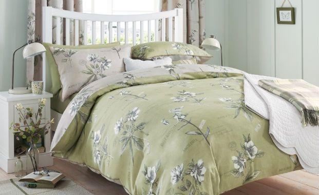 Fresh botanicals - bedroom interior design trends 2014, decorating a bedroom