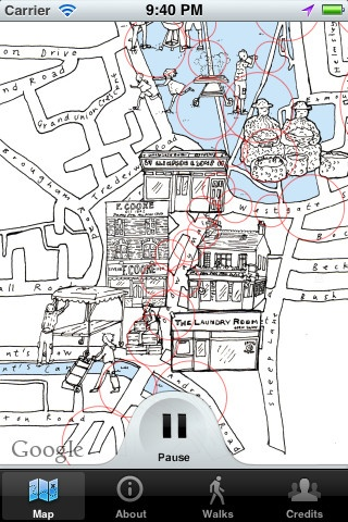 Triggering audio via GPS-location, Hackney Hear provides an innovative way to explore and rediscover London Fields through the stories of residents, local celebrities and archive
