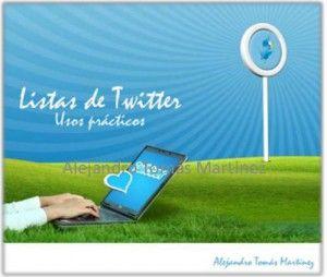 Usos prácticos listas de #Twitter