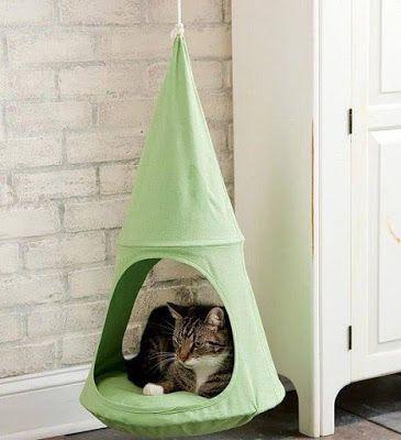 10 Ideas para Hacer Camas para Perros y Gatos con Artículos Reutilizables