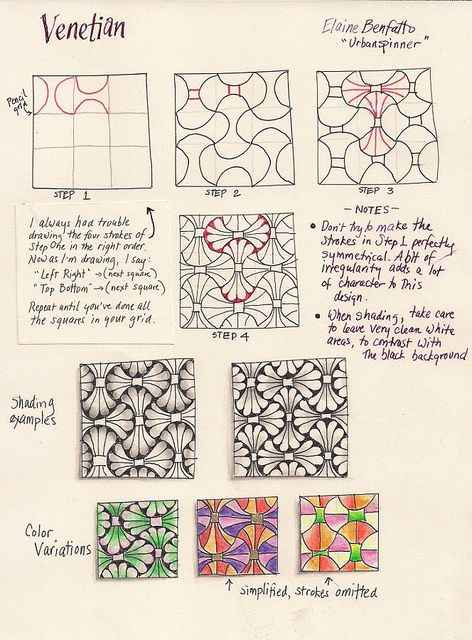 how to make doodle patterns