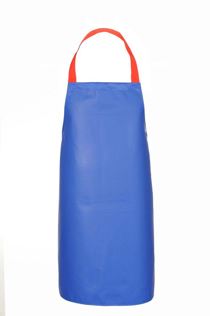 Fartuch wykonany z dzianiny poliestrowej powleczonej polichlorkiem winylu. Materiał odporny na działanie wody, tłuszczów, środków dezynfekujących oraz na uszkodzenia mechaniczne. http://kitle.pl/odziez-dla-gastronomii-dla-kucharzy-gastronomiczna/fartuchy-wodoochronne-gastronomiczne/