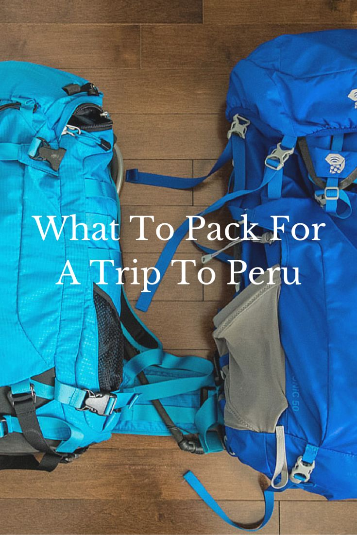 The hardest part about going to Peru is figuring out what to bring when planning that Inca Trail hike and exploration of the Amazon Jungle.  See a full breakdown of everything I brought for my trip.