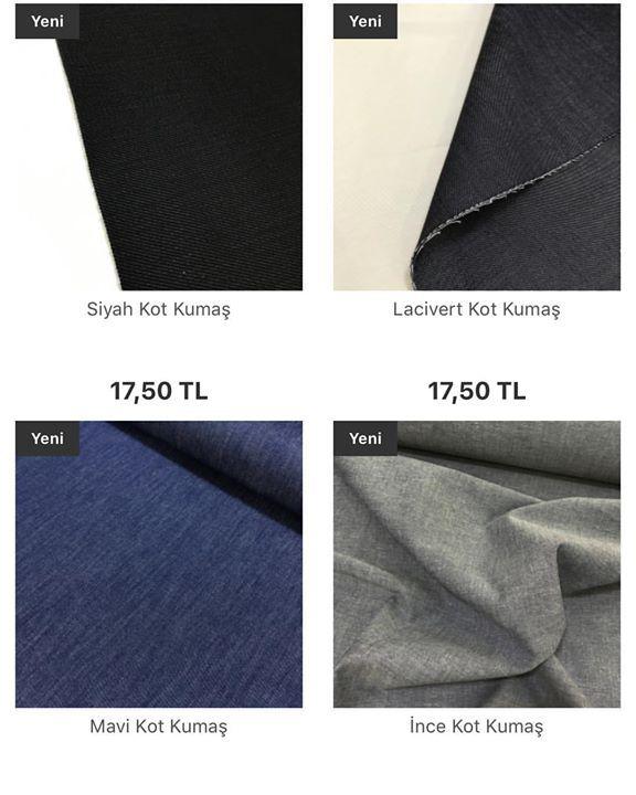 Kot kumaşlar siteye yüklenmiştir.Dikimden önce 30-40 derece yıkayınız.En 150 cm metresi 17.50 İnce kot gömlek ve kapri  şort olur.Diğer kotlar kalın ve hafif esnektir pantolon ve çanta olarak kullanılır. #intaslar #kumaş #kotkumaş #kot