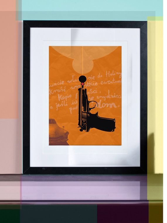 bang bang 2... Illustration art giclée print signed by TomekWawer