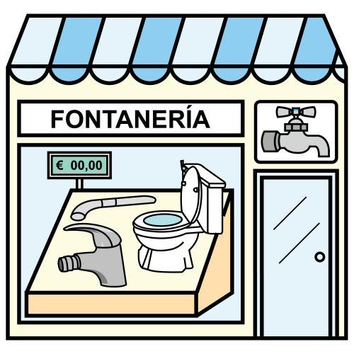 Pictogramas ARASAAC - Fontanería.