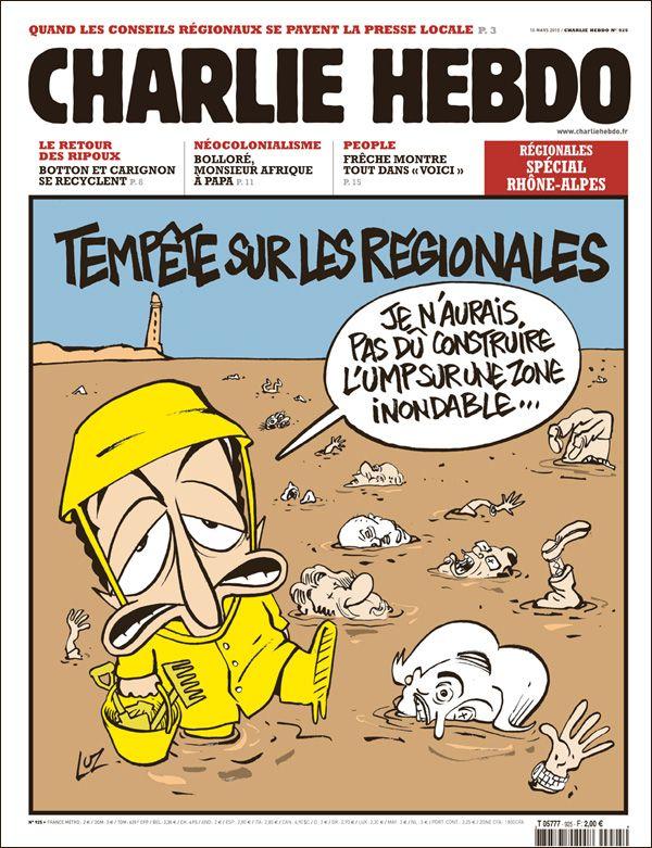 Charlie Hebdo - # 925 - 10 Mars 2010 - Couverture : Luz