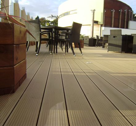 long life composite decking material in uk,quality assurance long decking uk,environmental friendly wpc decking