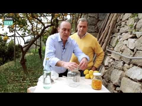 """Дженнаро Контальдо - Как приготовить ликёр """"Лимончелло"""" - YouTube"""